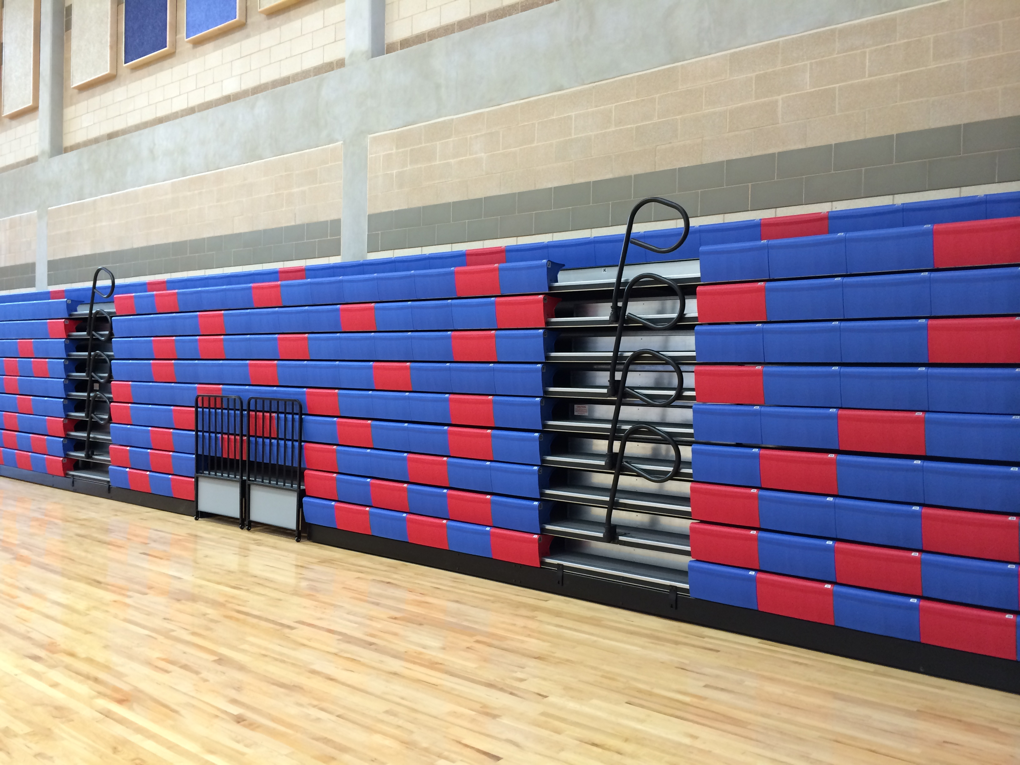 Telescopic Bleachers And Gym Seating Worthington