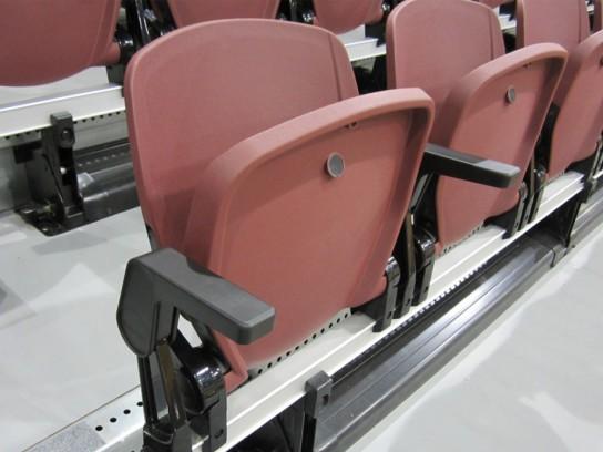 Telescopic Bleachers And Gym Seating Worthington